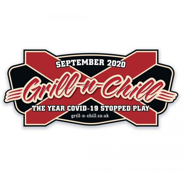2020 Grill-n-Chill Sticker